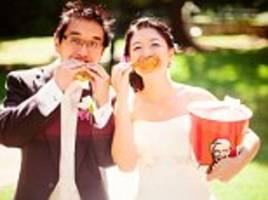 Meet the DOCTOR who is so obsessed with KFC buckets she's been collecting them for 11 years, included them in her wedding and even featured on a limited edition bucket!