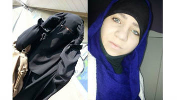 reports: possibly pregnant teens who joined isis killed in syria