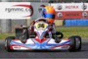 Karting: Camelford teenager Alex Quinn clinches fifth place on...